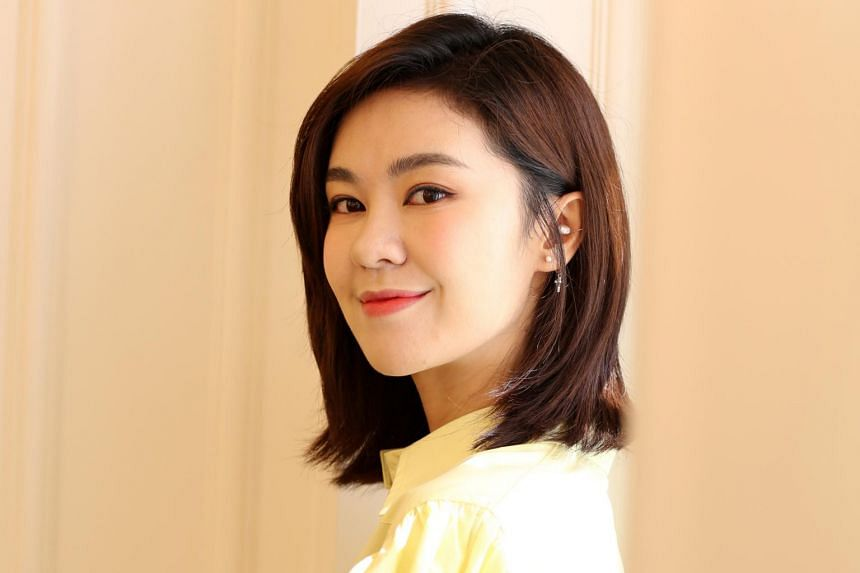 Yisa Yu told The Straits Times that she misses the food here and that she hopes to stage a solo concert here one day.