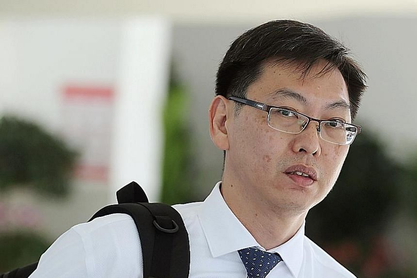 Lui Weng Sun allegedly neither confirmed nor denied pulling down a woman's bra cup and touching her breast in November 2017.