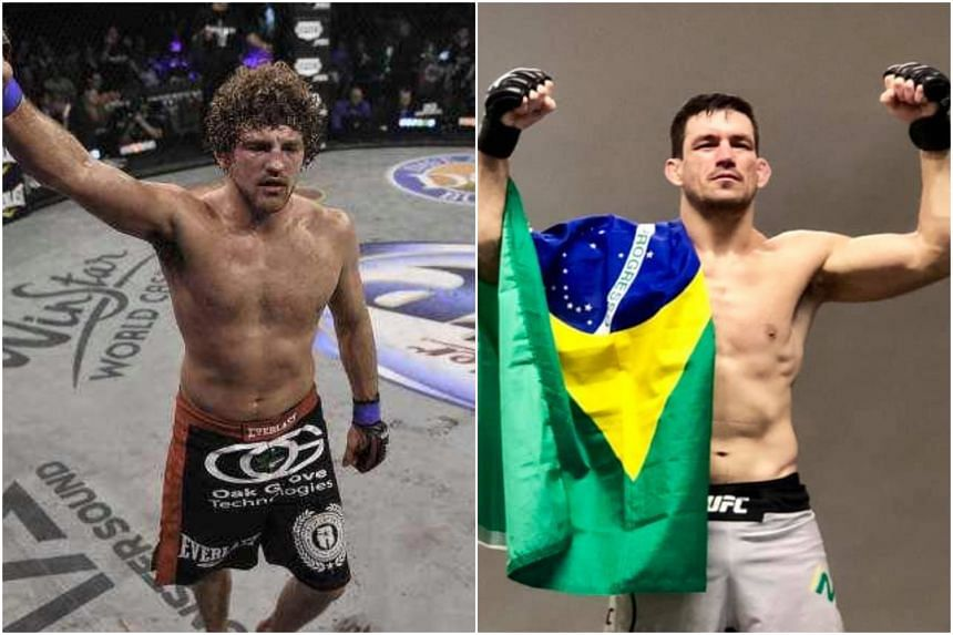 While the UFC have not made an official announcement, fighter Ben Askren (left) announced on Twitter early on Aug 21 that he will take on Brazilian fighter Demian Maia in a welterweight bout.
