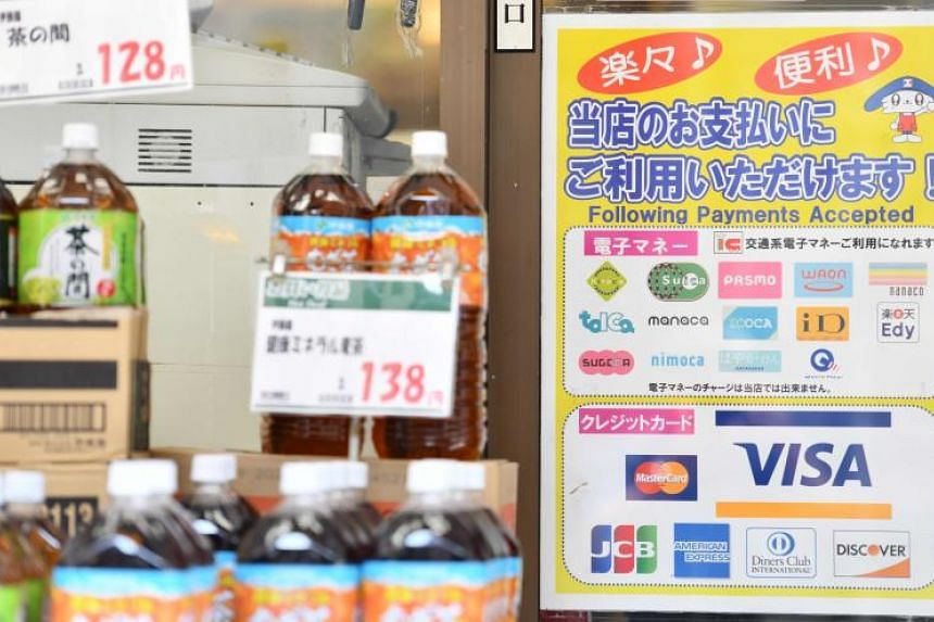In Japan, payment cards are used for small transactions such as at vending machines or convenience stores but four out of five purchases are still made with cash.
