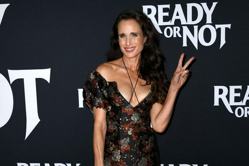 Andie MacDowell attending a screening of Ready Or Not at ArcLight Culver City, on Aug 19, 2019, in California.