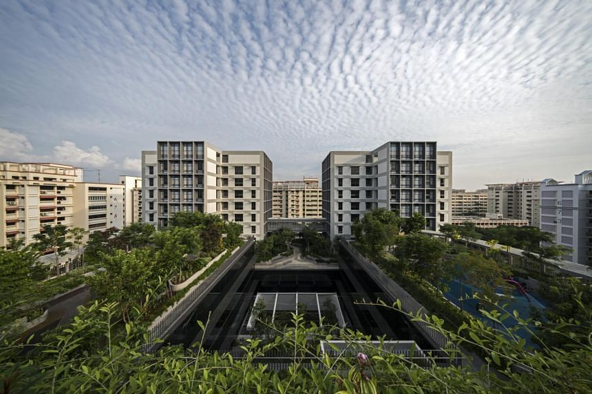Kampung Admiralty which won World Building of the Year 2018 award is an integrated retirement village that combines public housing for seniors, healthcare, childcare and community facilities under one roof.