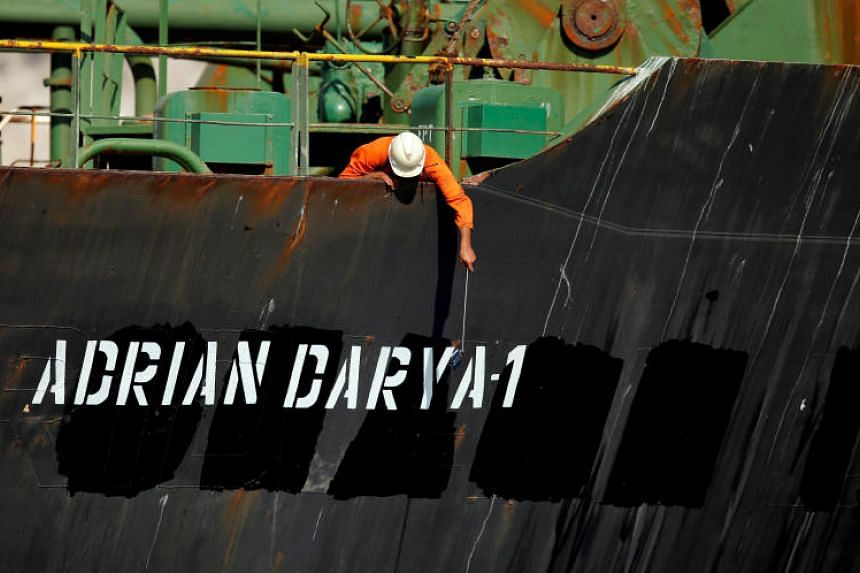 The United States has issued a warrant to seize the Iranian tanker, Adrian Darya 1, on the grounds that it had links to the Revolutionary Guards C (IRGC), which it designates as a terrorist organisation.