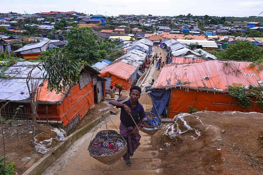 Rohingya refugees shun Myanmar return