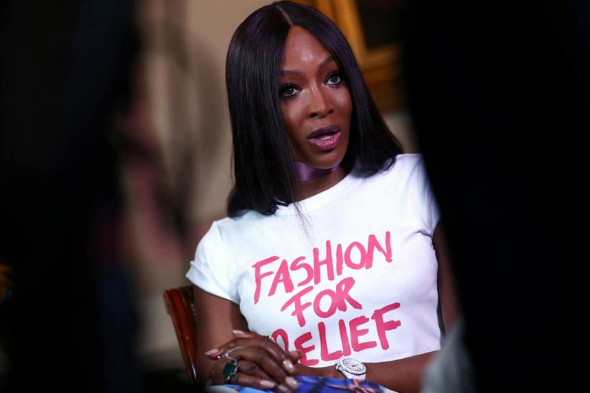 In a photo taken on June 24, Naomi Campbell speaks during an interview. Campbell referred to a report which highlighted her links to alleged sex offenders like movie producer Harvey Weinstein as character assassination.