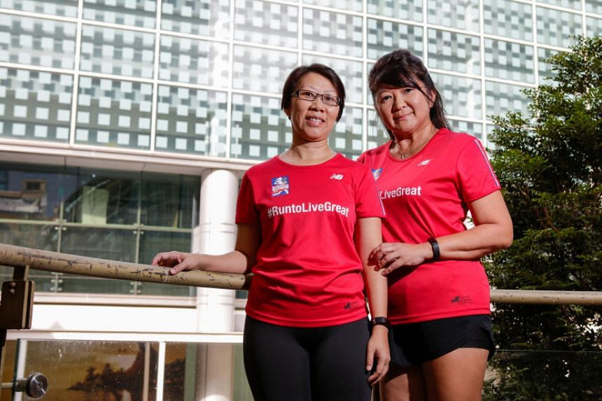 Josephine Oei and Irene Lee participated in various fringe activities together for over a month, but Oei was shocked when she found out from an article in The Straits Times that Lee was in the midst of a 21/2-year battle with Stage 3 ovarian cancer.