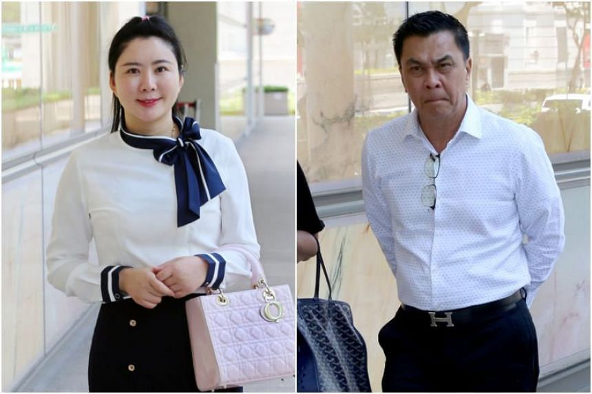 Businessman Toh Eng Tiah is suing his former mistress Angelina Jiang for the return of $2 million, which he says was a loan but she claims was a gift.