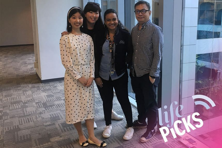 (From left): This week's Life Picks podcast features Olivia Ho, Hedy Khoo and Anjali Raguraman being hosted by John Lui as they talk about the best things to do in Singapore from Aug 22-29.