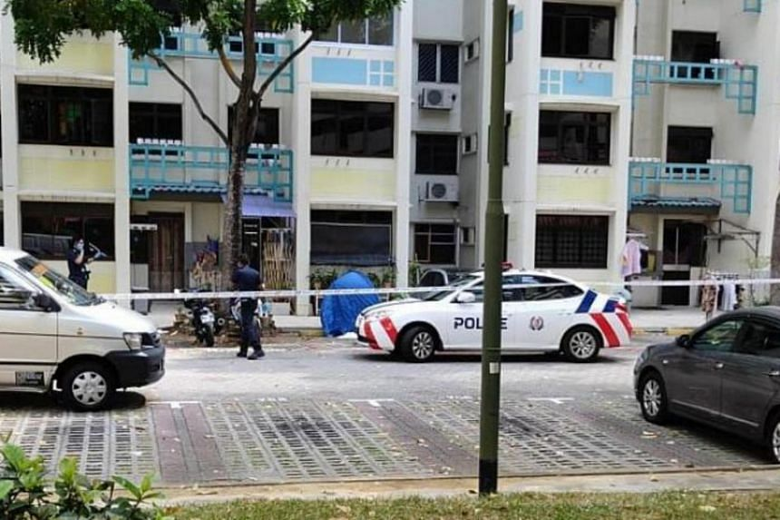 The incident happened at Block 26, Toa Payoh East.