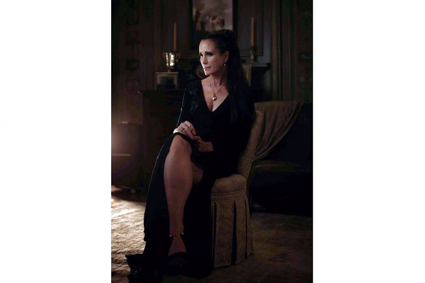 Ready Or Not stars Andie MacDowell, who plays a villain for the first time.
