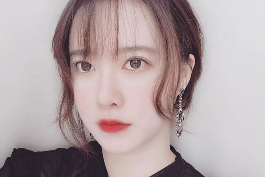 Actress Ku Hye-sun, who had previously said she would respect actor-husband Ahn Jae-hyun's wishes for a divorce, is now insisting that while they have discussed the issue, the divorce is not finalised yet.
