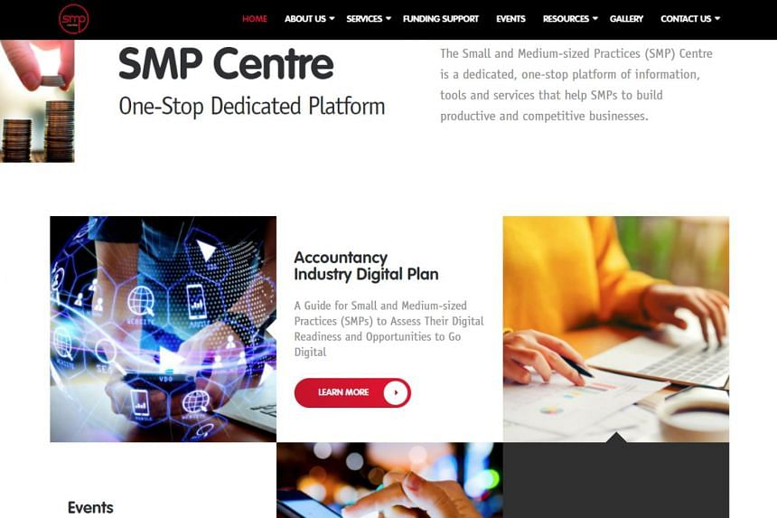 The SMP Centre is a dedicated online portal to help accountancy practices be more digitally competitive and where small- and medium-sized practices can access a self-assessment tool kit to determine their digital readiness, as well as source for a
