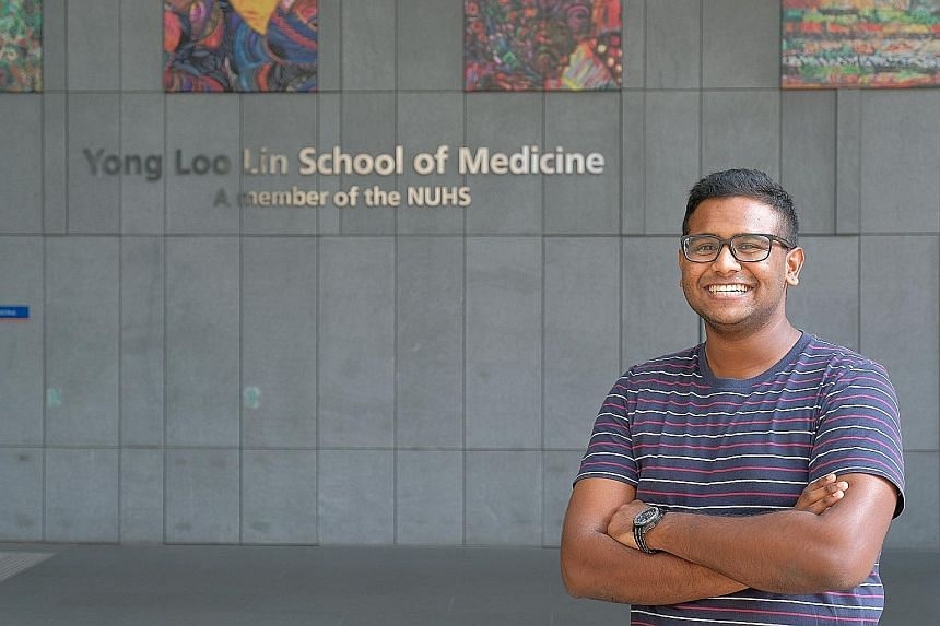 From next year, Mr Sakthivel Kuppusamy, a first-year student at the National University of Singapore Yong Loo Lin School of Medicine, will pay only $5,000 in tuition fees at most.