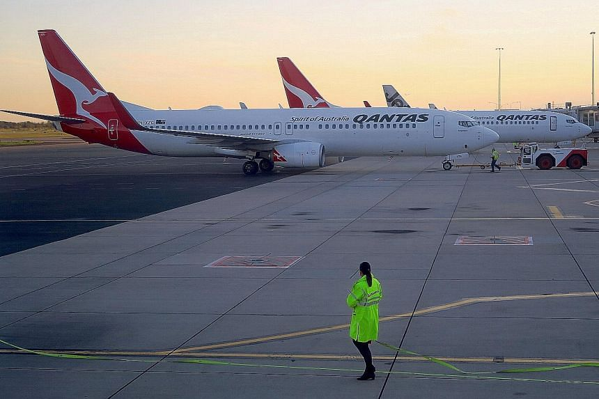 Qantas will run marathon ghost flights from New York and London to Sydney - which take about 20 hours - carrying just a few members of staff to see how the human body holds up before commercial services start as soon as 2022. The airline's announceme