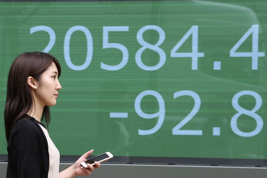 Japan's benchmark Nikkei added 0.2 per cent and Australian stocks eased 0.1 per cent, while South Korean shares shed 0.3 per cent.