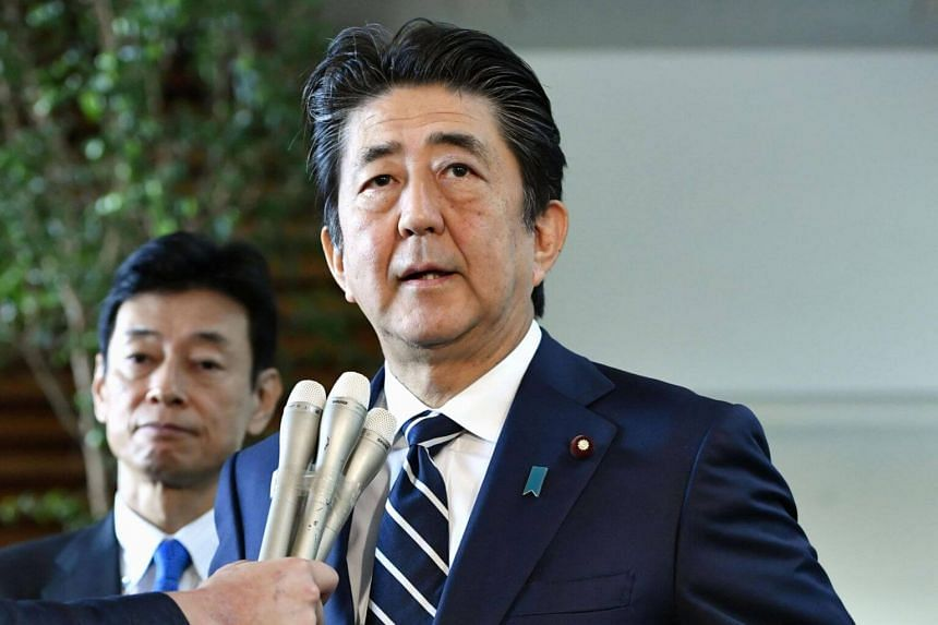 Japanese Prime Minister Shinzo Abe accused Seoul of not keeping past promises.