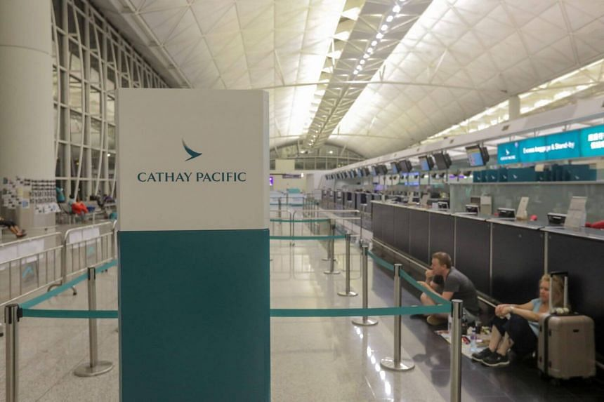 """Analyst Zhao Dongchen said Cathay currently trades at a premium to other airlines in Asia, which he believes will """"evaporate"""" because of factors ranging from the unrest in Hong Kong to the effects of the US-China trade war on global commerce."""