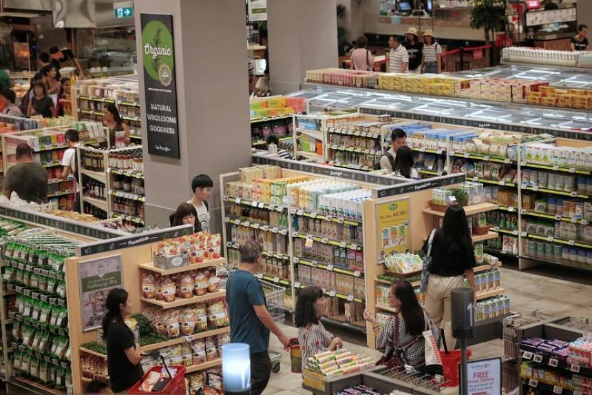 Spread over two floors and spanning 90,000 sq ft, the size of two football fields, the hypermarket packs in services and features not available anywhere else in Singapore.