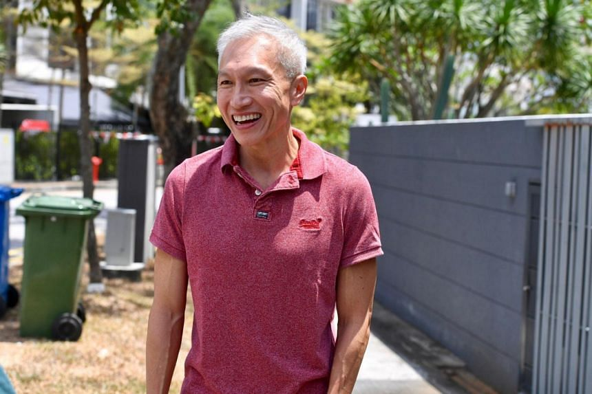 City Harvest Church founder Kong Hee walking into his home on Aug 23, 2019, a day after he was released from prison.