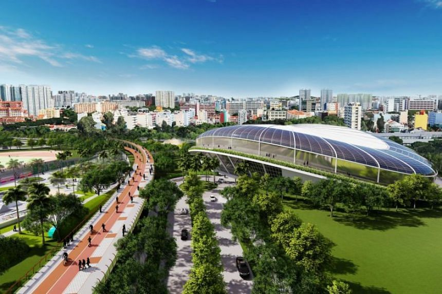 The iconic Kallang Theatre and its adjoining areas will be redeveloped into an integrated sport, entertainment and lifestyle centre.