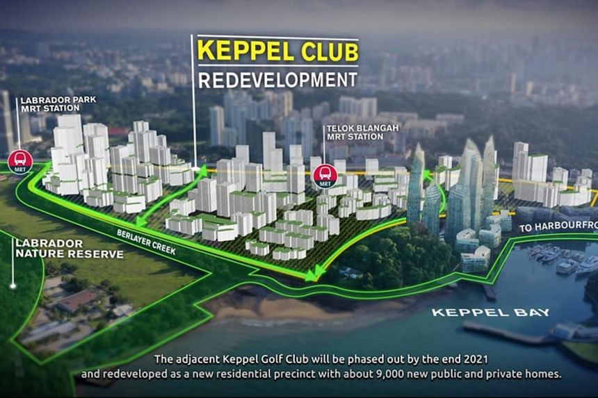 The land will accommodate about 9,000 apartments after the land lease for the 115-year-old country club expires on Dec 31, 2021.