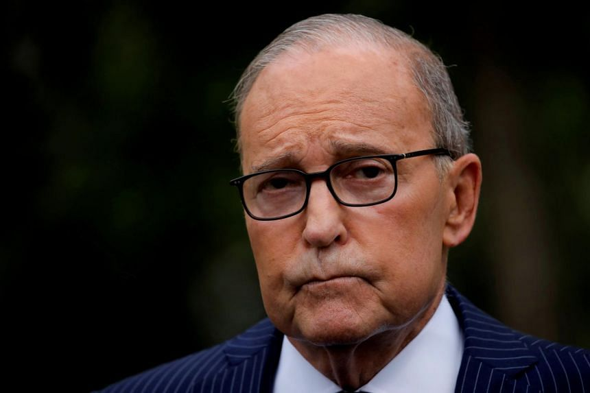 White House economic adviser Larry Kudlow said trade talks under way this week were yielding pretty good progress on agriculture and telecoms issues.