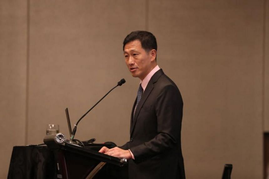 Minister for Education Ong Ye Kung delivering a speech at the Mandarin Orchard Singapore hotel on Aug 5, 2019. Mr Ong said on Aug 22 that universities such as NUS and NTU use the income generated from their endowment funds in many ways such as settin