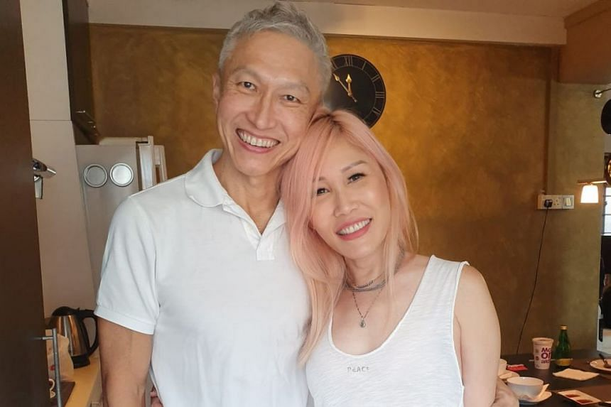 Mr Kong and his wife, Ho Yeow Sun, in a photo from the church's website.