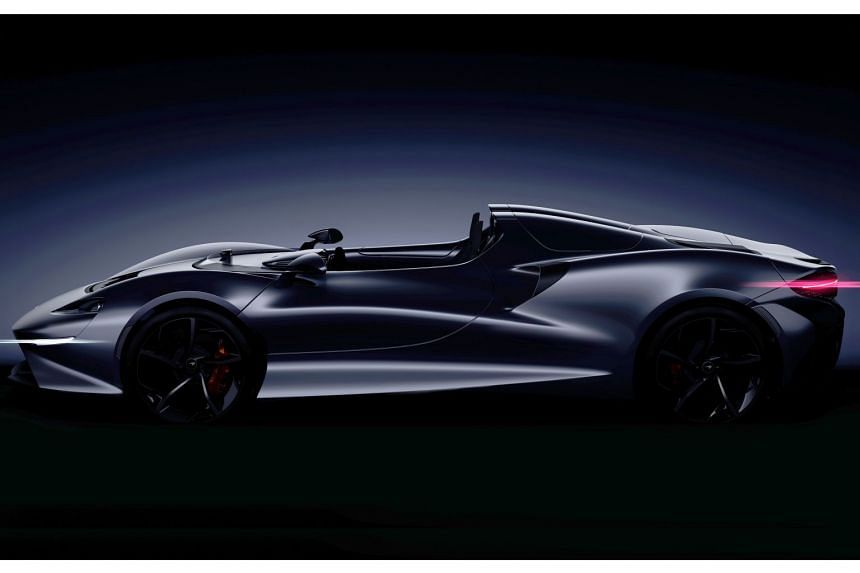McLaren Automotive has teased an all-new model (above) that will be joining its Ultimate Series range late next year.