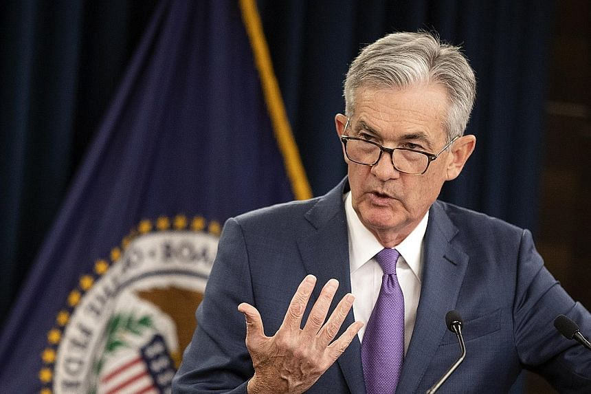 """Federal Reserve chairman Jerome Powell said """"the US economy has continued to perform well overall""""."""