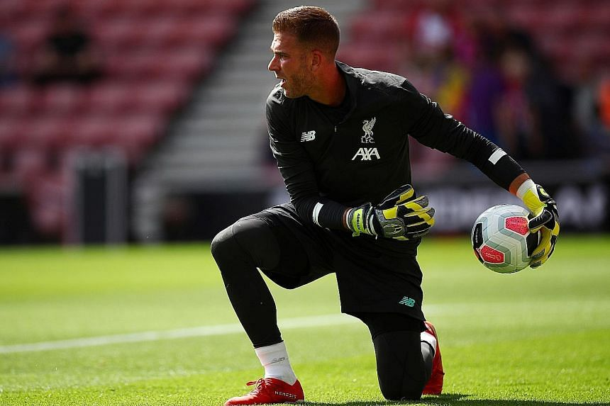 On his full debut, Adrian's penalty shoot-out save gave Liverpool victory over Chelsea in the Uefa Super Cup. But the backup goalkeeper made a howler with his clearance at Southampton to give away a goal last Saturday.