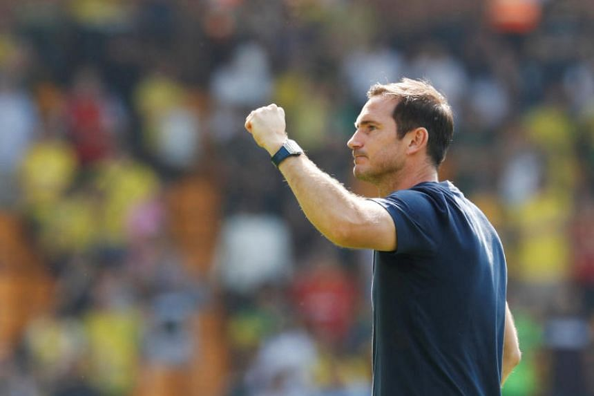 Frank Lampard finally got off the mark at the fourth attempt after a loss at Manchester United, defeat to Liverpool in the Uefa Super Cup and a draw with Leicester City.