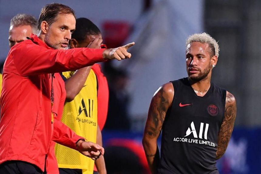 Paris Saint-Germain coach Thomas Tuchel said whether Neymar plays in Sunday's (Aug 25) Ligue 1 game depends on developments in the Brazilian's bid to leave the club.