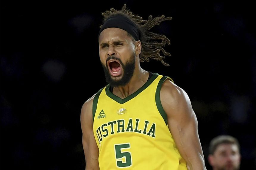 San Antonio Spurs' Patty Mills sank a game-high 30 points as Australia stunned the United States 98-94 in a huge upset.