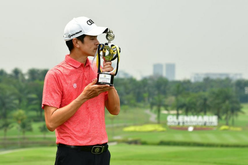 Quincy Quek earned RM39, 375 (S$13,031) for his win in Malaysia.