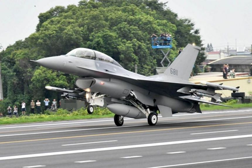 The US is installing upgraded electronics, including AESA radars, on Taiwan's existing fleet of 144 older F-16s.