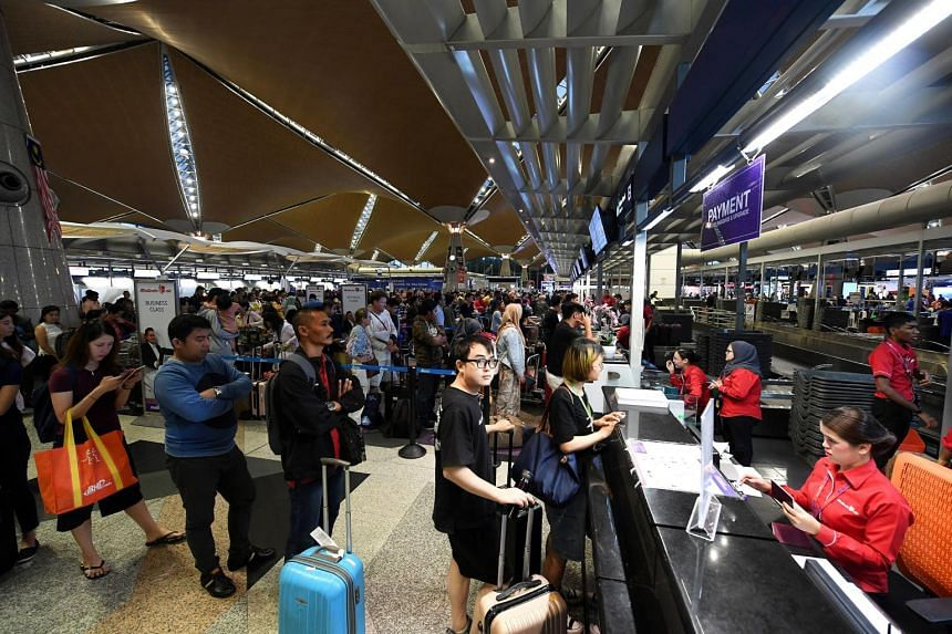 Situation at Kuala Lumpur airport improves, with manageable