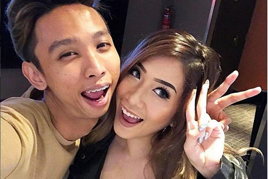 Nicole Choo and Ridhwan Azman.
