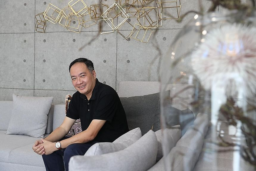 Mr Chew Yu Sing, founder and chief executive of Dental Shield, which provides dental insurance products, says about 70 per cent of his portfolio lies in property, 28 per cent in business investment, 2 per cent in stocks and a small amount in crypto a