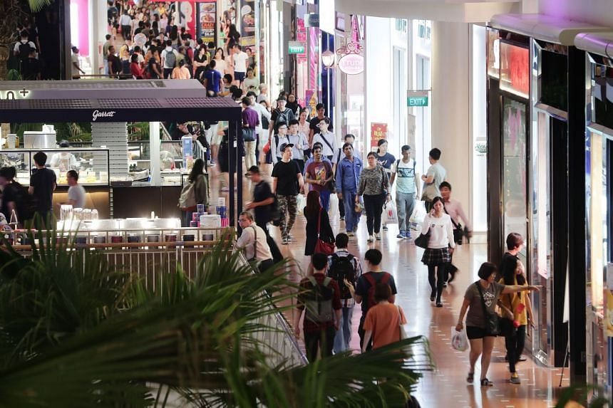 Singapore's malls have responded to declining sales efficiency by accelerating the roll-out of experiential retail concepts.