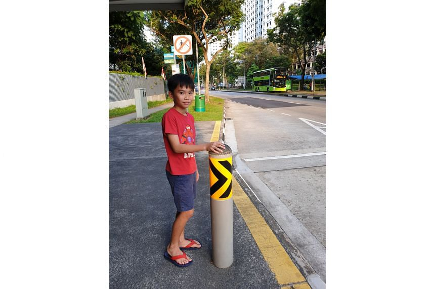 Now 11, Primary 5 pupil Voon Shin Yu has been taking public buses on his own since he was seven.
