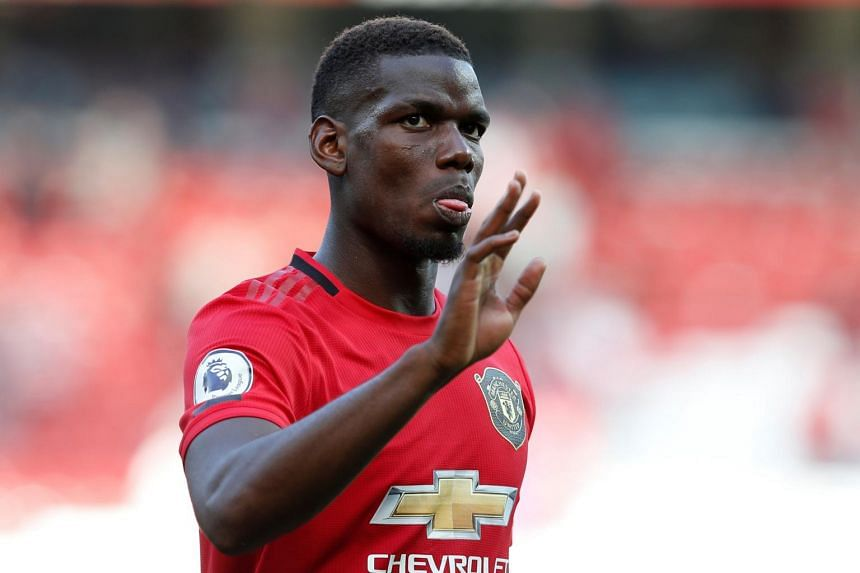 Pogba was the target of racial slurs on Twitter when his penalty was saved by Wolves goalkeeper Rui Patricio in Aug 19's 1-1 draw.