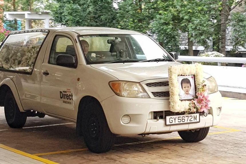 The 18-month-old toddler, identified by Chinese-language evening paper Lianhe Wanbao as Lai Jiaxin, was cremated on Aug 25 morning at Mandai Crematorium.