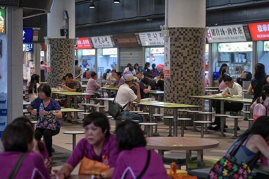 The 13 new SEHCs, to be completed by 2027, will join the seven existing ones - including Our Tampines Hub (above) - in operation, which are managed by five social enterprise entities.