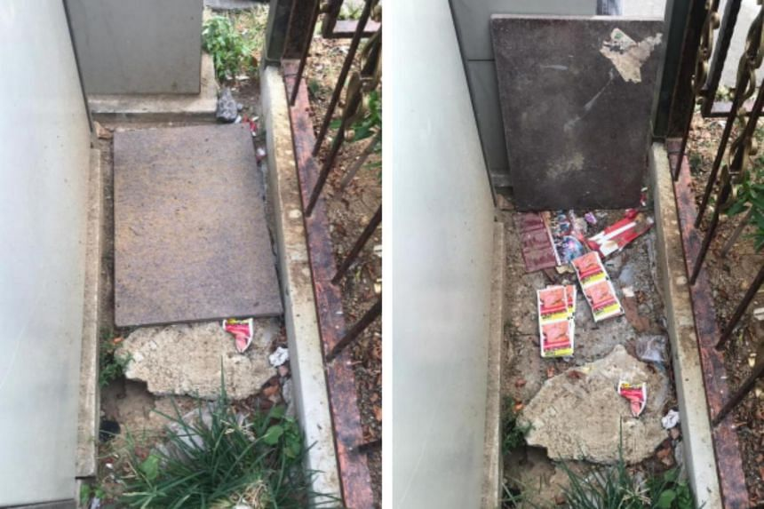 During the operation, officers found chewing tobacco hidden under a metal plate along a pavement.