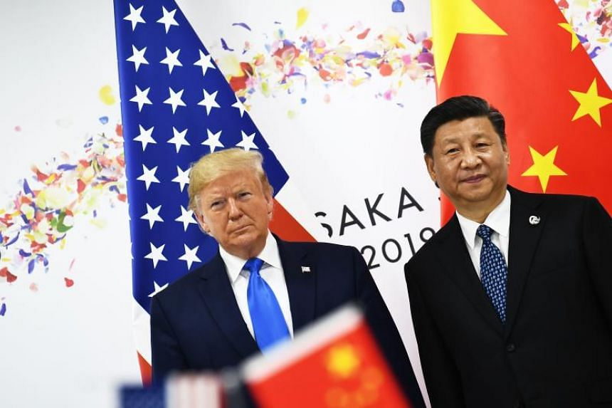 US President Donald Trump was challenged on a negotiating style in which he praises Chinese President Xi Jinping one day and castigates him the next.