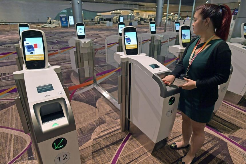 Eligible holders of Japanese and South Korean passports will be able to use the automated immigration clearance gates at Singapore's checkpoints from Aug 28.