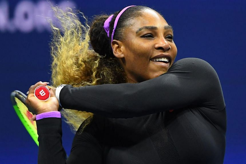Serena Williams showed no signs of back spasms and instead showcased some of her best on-court movement since returning from maternity leave in 2018.
