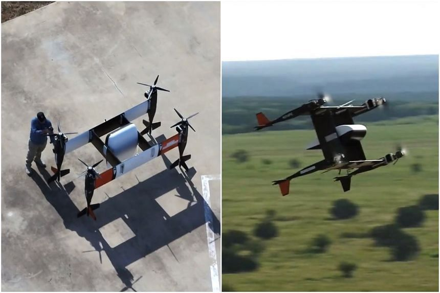 The development of delivery drones comes amid rapid growth in parcel deliveries fostered by the trend for online shopping.