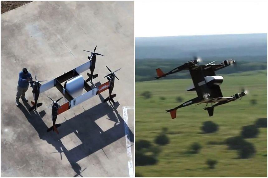 Bell Flies Autonomous Pod Transport Drone
